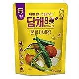 DOSAM Global DAMCHAE 8 MI - Vegetable Chips ( 2 Flavors) (Mixed Vegetable Chips)