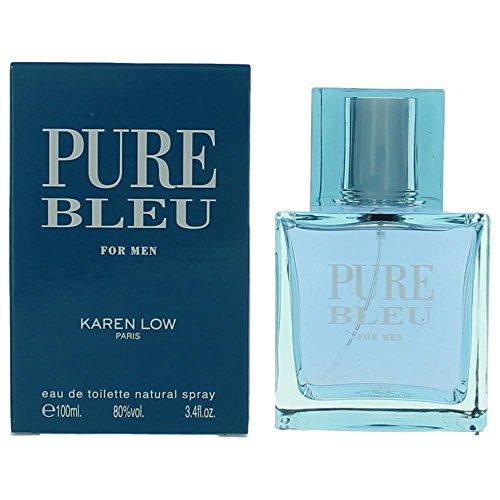 KAREN LOW PURE BLEU 3.4 FL. OZ. EAU DE TOILETTE SPRAY