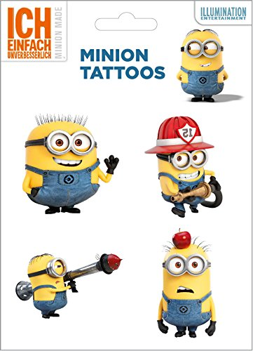Minions Tattoo Set 3