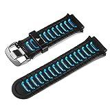 Garmin - Bracelet de Rechange pour Montres Forerunner 920XT - Noir/Bleu