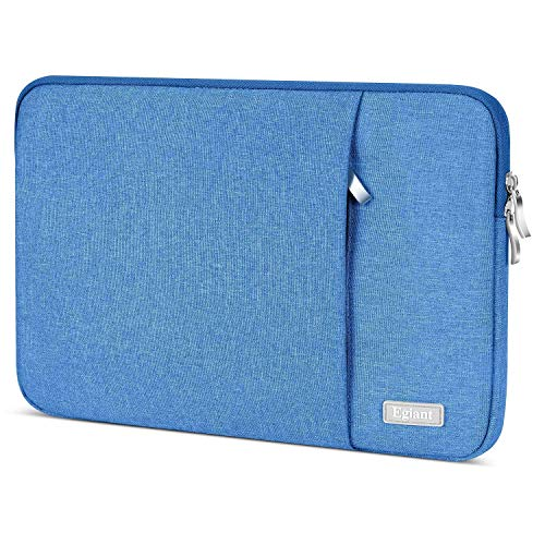 Laptop Sleeve 15.6 Inch, Egiant Water-repellent Protective Fabric Notebook Bag Case Compatible F555LA MB168B X551, Aspire 15.6, Chromebook 15, Inspiron 15.6. Pavilion 15.6,Computer Carrying Case, Blue