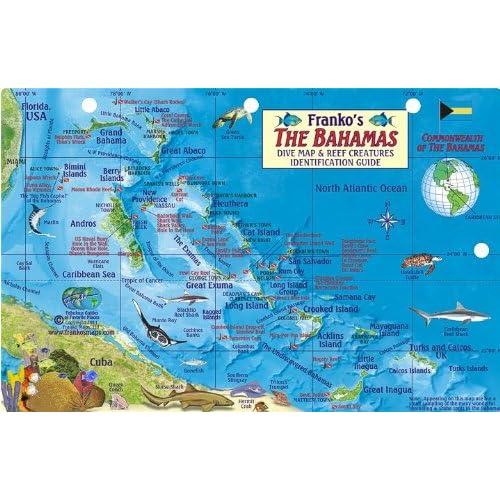 Map of The Bahamas: Amazon.com
