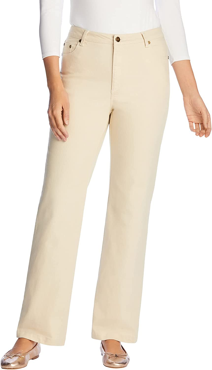 Woman Within Max 53% OFF 5 popular Women's Plus Size Jean Petite Leg Wide Stretch