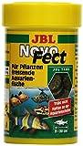 JBL NovoFect 30247 Alleinfutter fr pflanzenfressende Aquarienfische, Tabletten 100 ml
