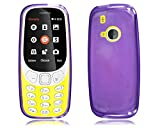 Nokia 3310 2017 New Purple Gel Silicone Rubber Phone Case