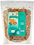 Granola sem Gluten sem Adição Açúcar Biomassa Goji Berry Leve Crock 500g