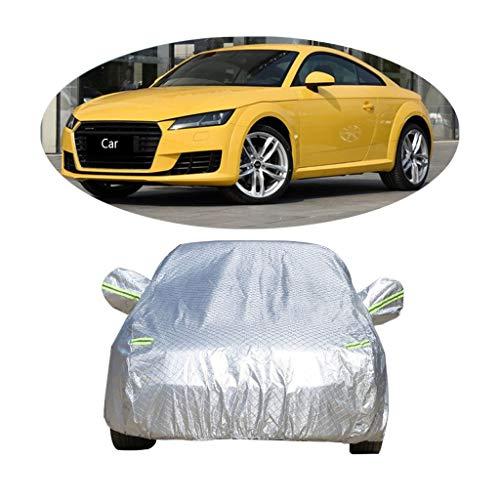 Couverture de voiture Compatible avec la couverture de voiture de sport Audi TT épaississant la couverture de voiture de protection solaire de protection contre la poussière de protection solaire de v