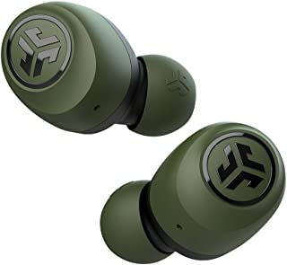 JLab Audio Go Air True Wireless Bluetooth Earbuds + Charging Case   Green   Dual Connect   IP44 Sweat Resistance   Bluetoo...