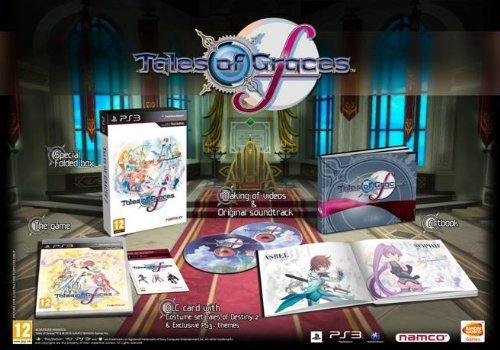 Tales Of Graces F - Day 1 Special Edition PS3 by Namco