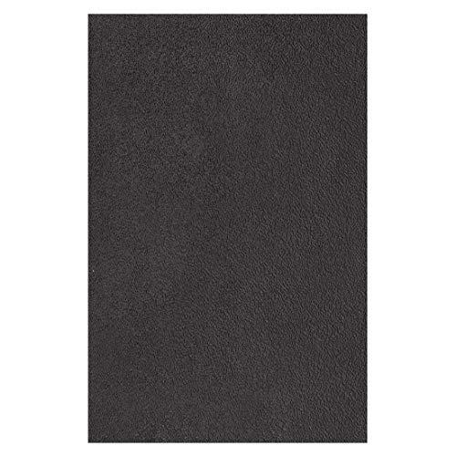 Langlauf Schuhbedarf Gummiplatte aus weichem Sohlengummi 1,8 mm 20x30cm schwarz für ein Paar Halbsohlen