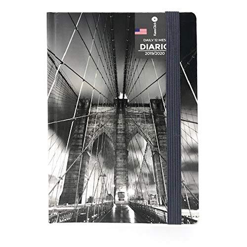 KAOS CLICK Diario Agenda Scuola/Università 2019-20 NEW YORK - Copertina All'Olandese Dimensioni 16.5x11.5 cm circa