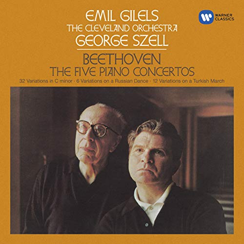 Gilels & George Szell - Beethoven Piano Concertos