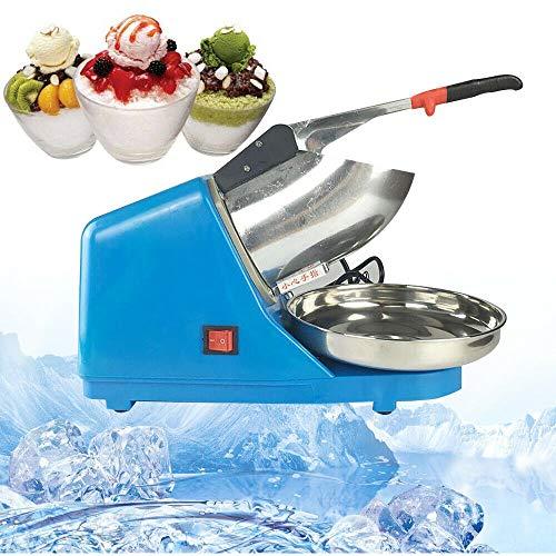 Oukaning, tritaghiaccio elettrico, macchina per cubetti ghiaccio, blu