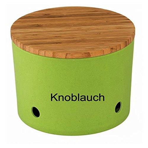 Magu Knoblauchtopf Natur-Design grün
