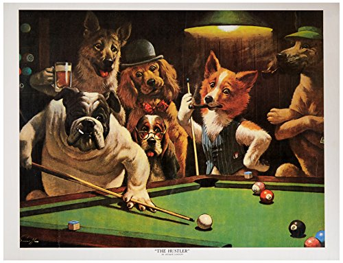 artworkforless.com The Hustler by Arthur Sarnoff - 16 x 20 inches - Fine Art Print/Poster