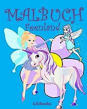 Malbuch Feenland (German Edition)