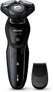 フィリップス 5000シリーズ メンズ 電気シェーバー 27枚刃 回転式 お風呂剃り & 丸洗い可 トリマー付 S5076/06