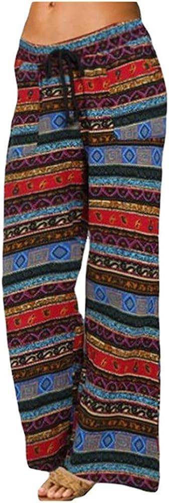 NP Casual Pants Women Loose Summer Pants ice Silk Wide-Leg Pants Flared Pants