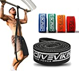 ActiveVikings Bandas de fitness de primera calidad para tu fitness – Bandas de tela perfectas para el desarrollo muscular – Banda de resistencia – Banda de terreno