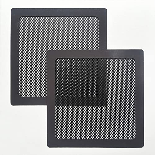 120mm Dust Filter for Computer Cooler Fan, Magnetic Frame PC Fan Dust Mesh PC Cooler Filter Dustproof PVC Cover Computer Fan Grills (2pc Pack)