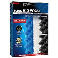 Each Pack includes 2 x Bio-Foam Max, 2 x Bio-Foam and 2 x Bio-Foam+ High Quality: Premium-grade, long-lasting materials for healthy, contaminant-free water Consistent: Rigorous quality control for perfect results every time Effective: All Fluval medi...