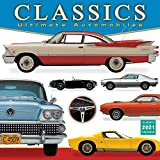 2021 Classics: Ultimate Automobiles 16-Month Wall Calendar