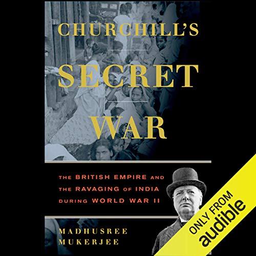 Churchill's Secret War audiobook cover art