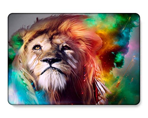 GangdaoCase Plastic Ultra Slim Light Hard Shell Case Cut Out Design for New MacBook Pro 15 inch with Touch Bar/Touch ID A1707/A1990 (Animal A 196)