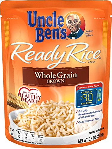 Uncle Ben#039s Ready Rice: Whole Grain Brown Rice Ready to Heat 88 OuncePack of 6
