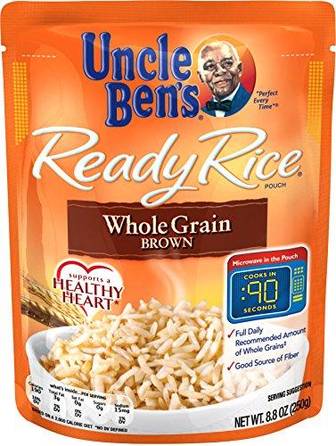 UNCLE BEN'S Ready Rice: Whole Grain Brown 12pk