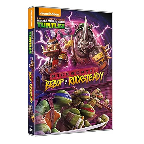 I Racconti delle Teenage Mutant Ninja Turtles - Ricercati: Bebop e Rocksteady (DVD)
