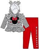 Disney Conjunto de pantalones con capucha y sudadera con capucha de Minnie Mouse de 2 piezas (recién nacidos/bebés) - - 24 meses