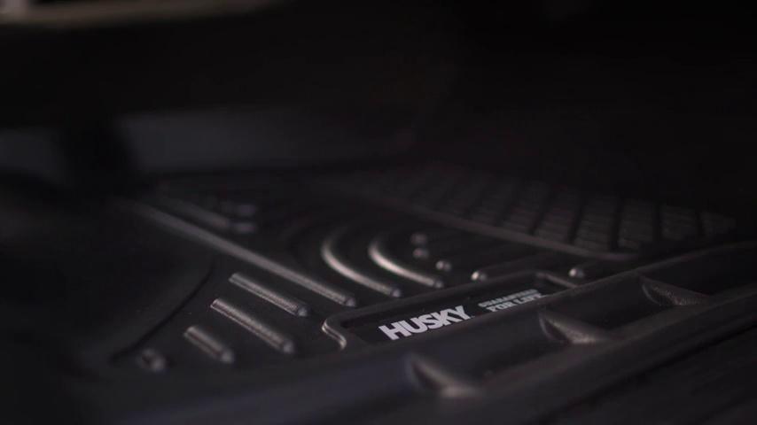 HUSKY 43051 WeatherBeater Trunk Liner for 12-18 Ford Focus Hatchback ONLY Black