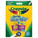 Crayola Vives SuperTips 12por paquete
