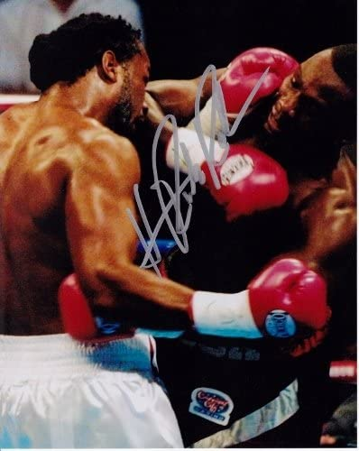 Hasim Rahman Signed Bargain - Autographed Sales of SALE items from new works Boxing 8x10 Lenn Photo inch vs