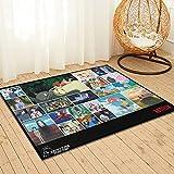 Large Puzzle Kiki's Delivery Service - Alfombra para guardería, alfombra para niños, alfombra de carretera, alfombra de coche, alfombra de juegos, 91 x 61 cm