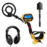 URCERI GC-1028 Metal Detector with All Metal and DISC Modes, High Sensitive, Waterproof