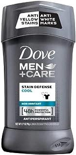 Dove Men+Care Antiperspirant Deodorant Stick Stain Defense Cool 2.7 (Pack of 4)