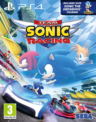 TEAM SONIC RACING PS4 EDITION SPÉCIALE COLLECTOR + FIGURINE SONIC