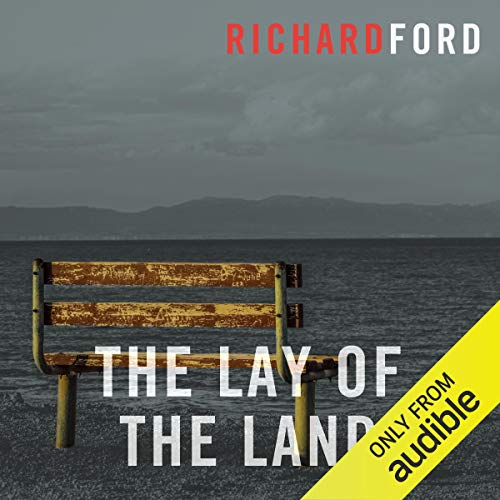 The Lay of the Land     The Bascombe Trilogy              By:                                                                                                                                 Richard Ford                               Narrated by:                                                                                                                                 William Hope                      Length: 24 hrs and 12 mins     2 ratings     Overall 5.0