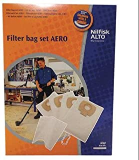 NILFISK-ALTO 302002404 Bag Set HEPA Efficiency WLM