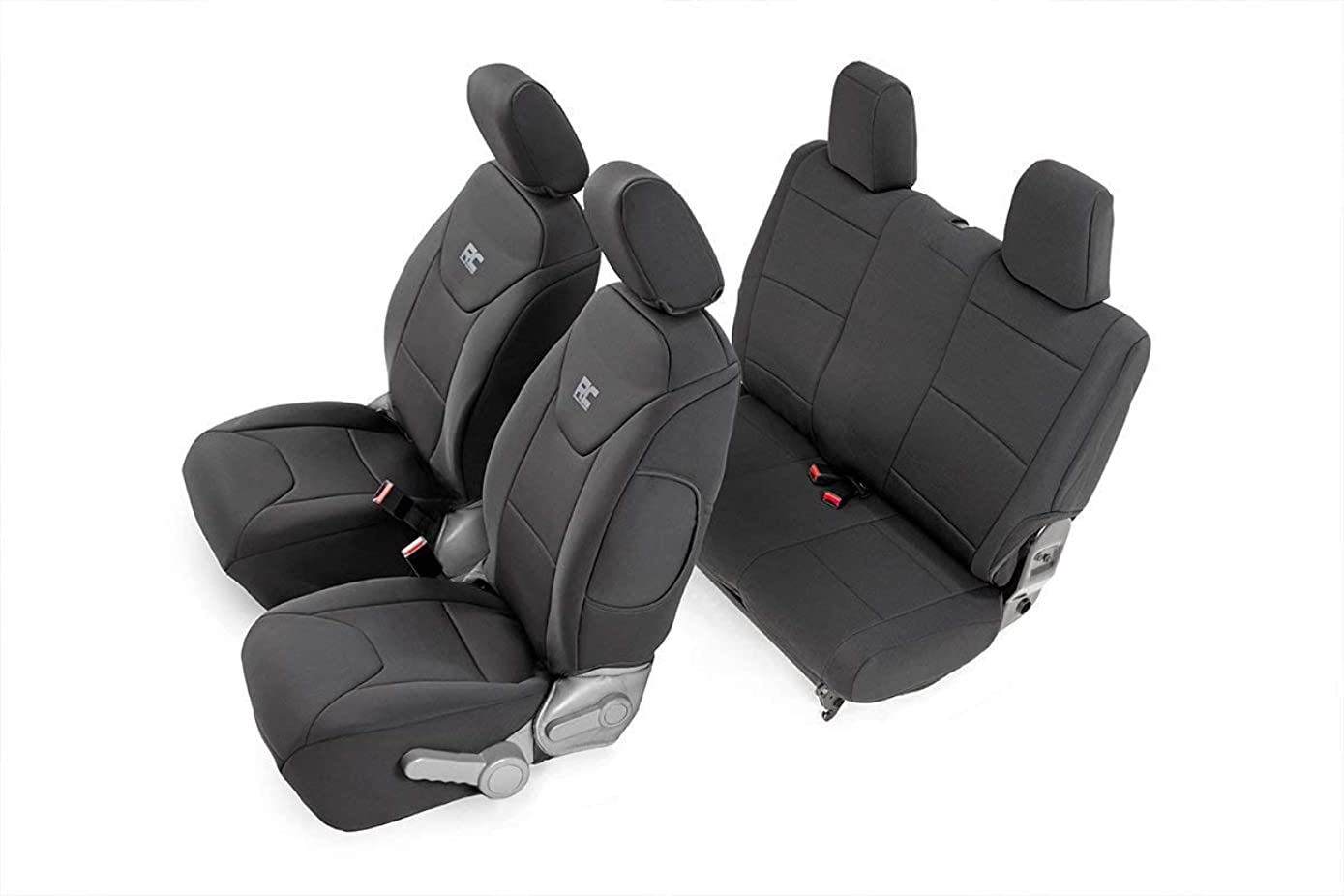 Rough Country 91005 Black Custom Fit Seat Covers