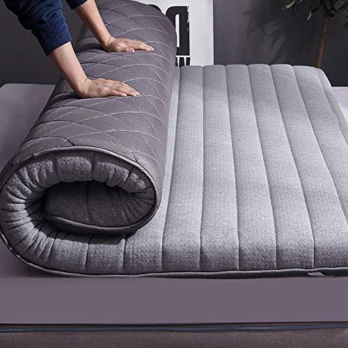 Sleeping Tatami Floor Mat Cotton Comfortable Floor Mattress Breathable Japanese Tatami Mattress For Single Double Mattress B 90×200cm(35.4×78inch)