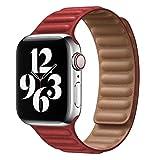 NIORFOA Norfoa 2021 Nouvelle Bande de Montre pour Apple Watch Se 6 5 4 Bandes de Boucle en Cuir...
