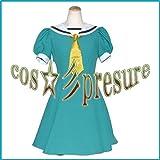 359 【cos-presure】ひぐらしのなく頃に 北条沙都子 風衣装☆彡コスプレ