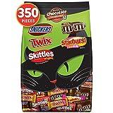 M&M'S, SNICKERS, TWIX, STARBURST & SKITTLES Halloween Chocolate Candy Fun Size & Minis Variety…