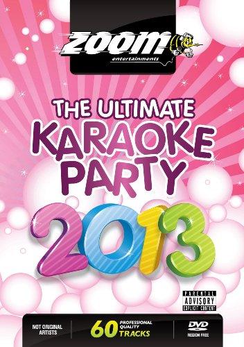 Zoom Karaoke DVD - The Ultimate Karaoke Party 2013 - 60 Songs