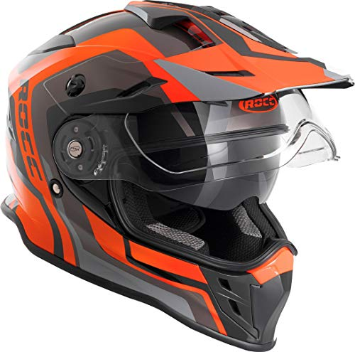 Rocc 781 Motocross Helm L Schwarz/Orange