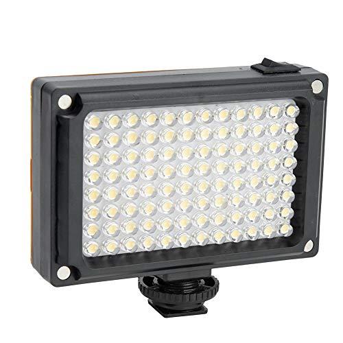 Luz de relleno Luz de relleno de la cámara, Luz de relleno LED para video, Luz de relleno Mini, Luz de video LED regulable, Luz de cámara regulable ultra brillante de 96 LED