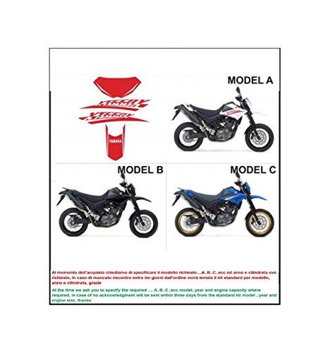 Kit adesivi decal stikers yamaha xt 660 x 2008 (INDICARE IL MODELLO A o B o C)